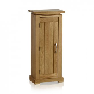 Tokyo Natural Solid Oak CD Storage Unit