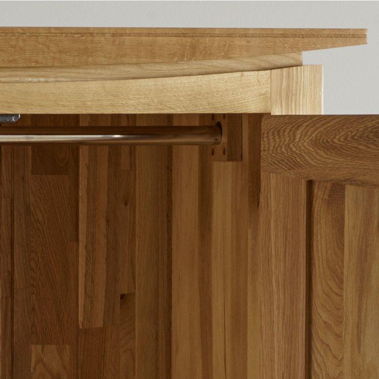 Tokyo Natural Solid Oak Double Wardrobe