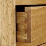 Tokyo Natural Solid Oak Double Wardrobe - Thumbnail 6