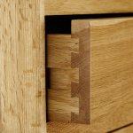 Tokyo Natural Solid Oak Double Wardrobe - Thumbnail 5