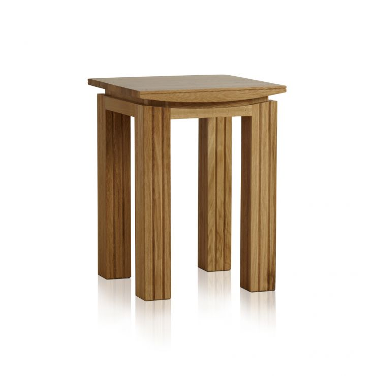 Tokyo Natural Solid Oak Lamp Table - Image 4