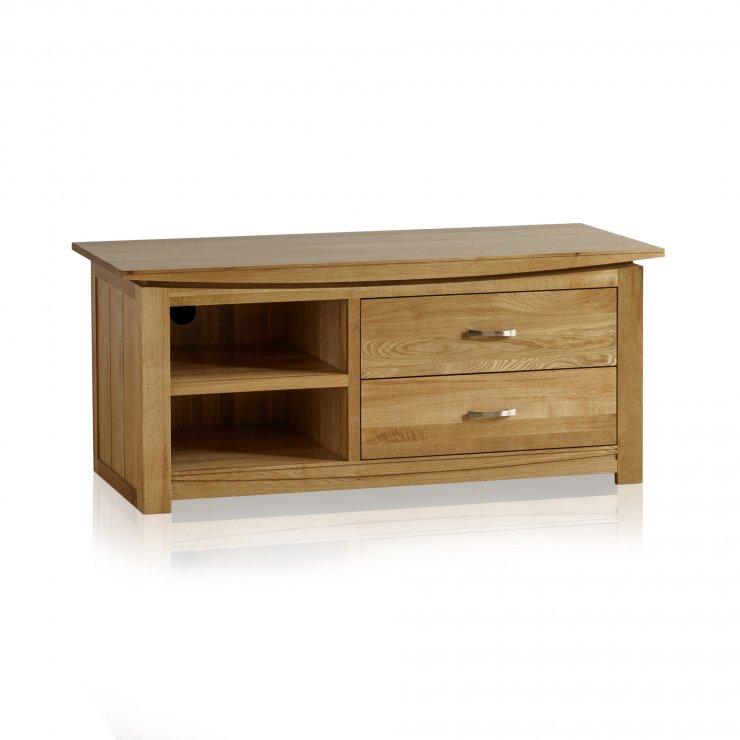 Tokyo Natural Solid Oak Large TV Cabinet - Image 5