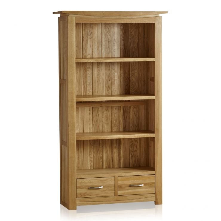 Tokyo Natural Solid Oak Tall Bookcase - Image 6