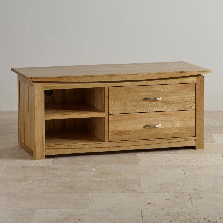 Tokyo Natural Solid Oak Large TV Cabinet
