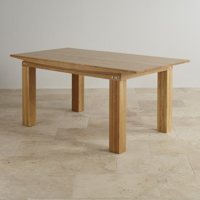 Tokyo Natural Solid Oak 6ft X 3ft Dining Table