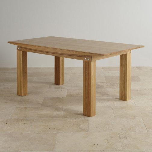 Tokyo Solid Oak 6ft x 3ft Dining Table