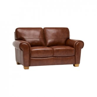 Verona 2 Seater Sofa - Tan Leather