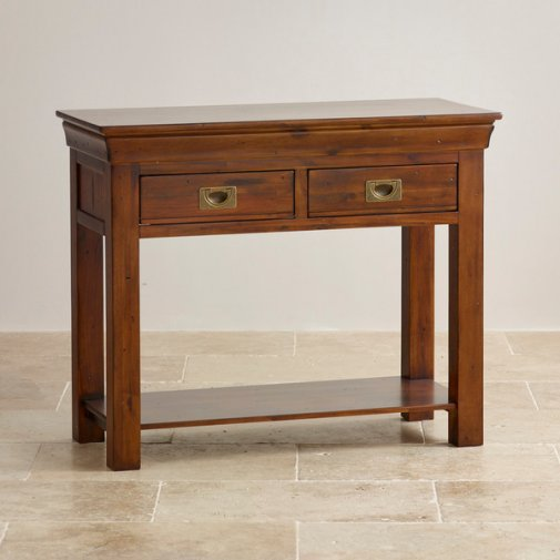 Victoria Solid Hardwood Console Table