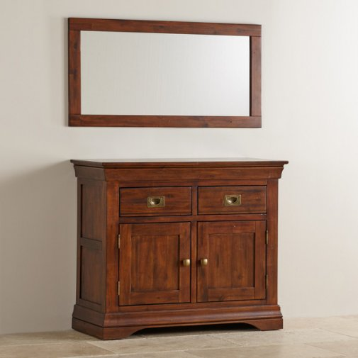 Victoria Solid Hardwood Wall Mirror