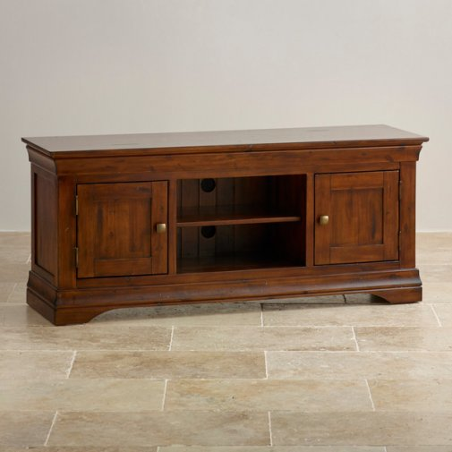 Victoria Solid Hardwood Large TV Cabinet