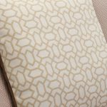 Vienna Right Hand High Back Corner Sofa in Aero Fawn Fabric with Cream Scatters - Thumbnail 8