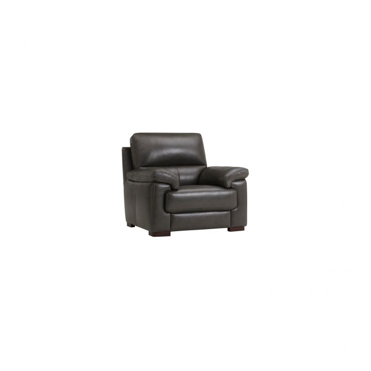 Vision Armchair in Anthracite Leather