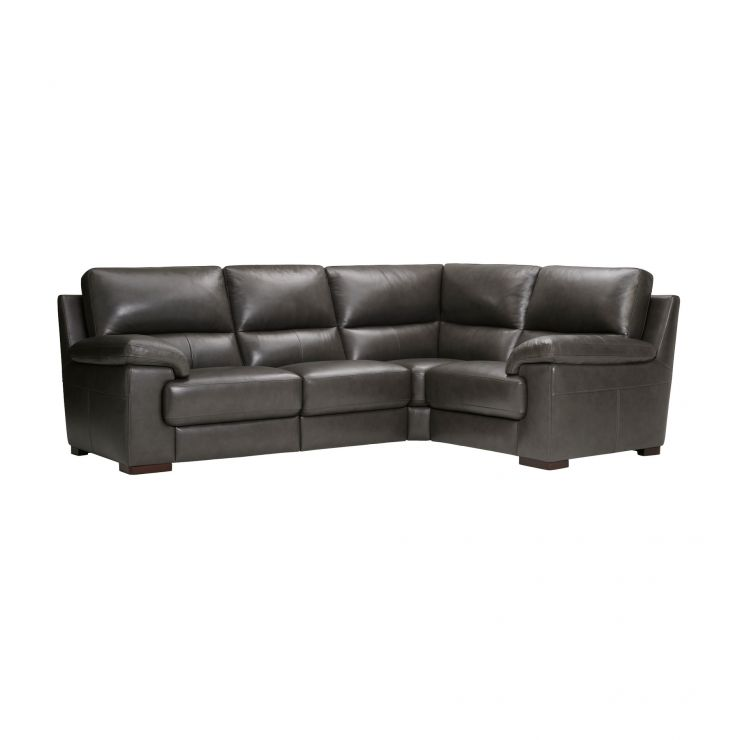 Vision Modular Group 2 in Anthracite Leather