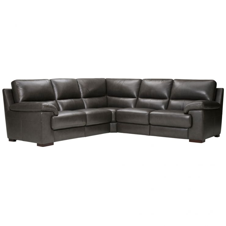 Vision Modular Group 3 in Anthracite Leather