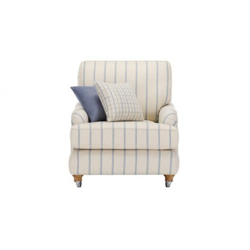 Westbury Armchair in Kendrick Stripe
