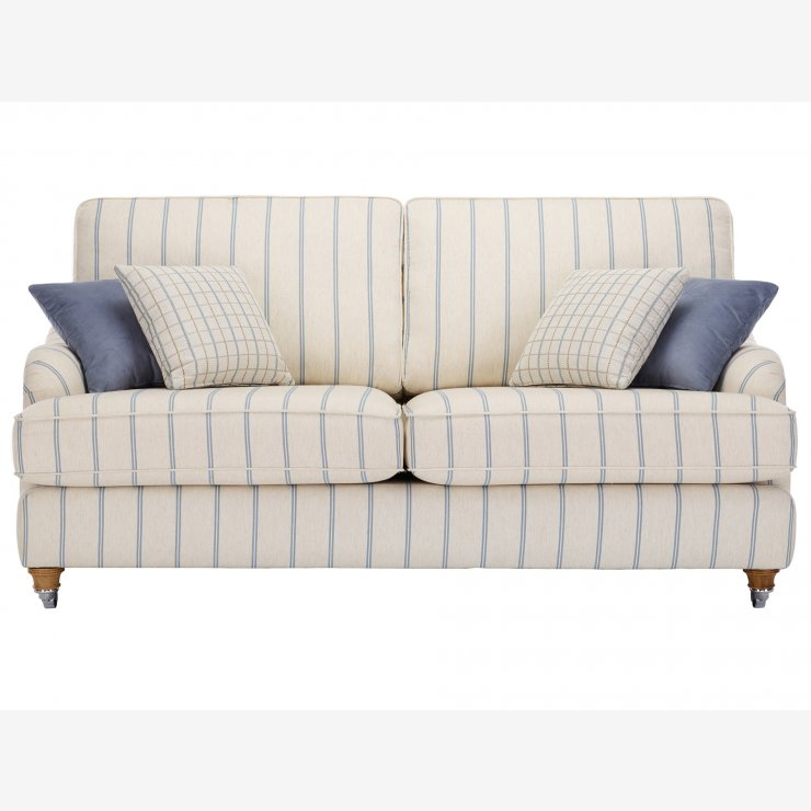 Westbury 3 Seater Sofa in Kendrick Stripe - Image 1