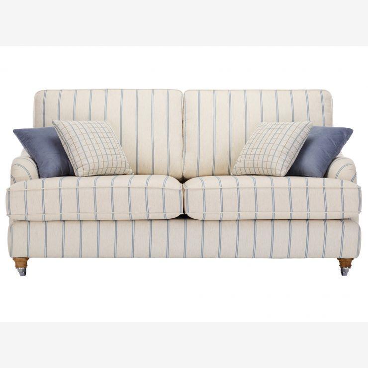 Westbury 3 Seater Sofa in Kendrick Stripe - Image 1