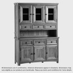 Wiltshire Natural Solid Oak Large Dresser - Thumbnail 3