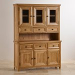 Wiltshire Natural Solid Oak Large Dresser - Thumbnail 2