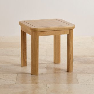 Wiltshire Natural Solid Oak Side Table