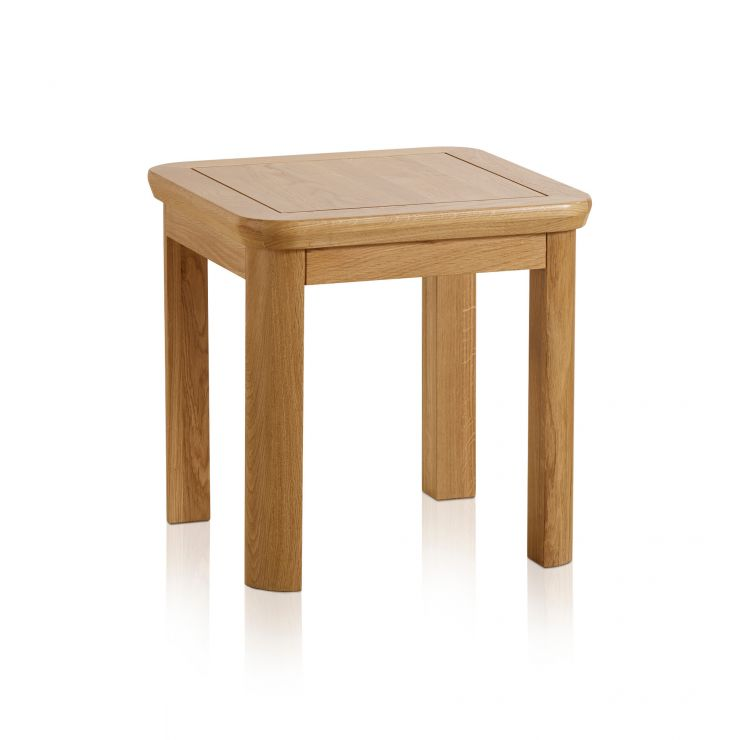 Wiltshire Natural Solid Oak Side Table - Image 5