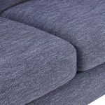 Witney 2 Seater Sofa in Storm with Blue Scatters - Thumbnail 6