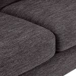 Witney 3 Seater Sofa in Charcoal with Charcoal Scatters - Thumbnail 6