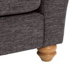 Witney 3 Seater Sofa in Charcoal with Charcoal Scatters - Thumbnail 9