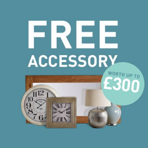 Free Accessory Promotion