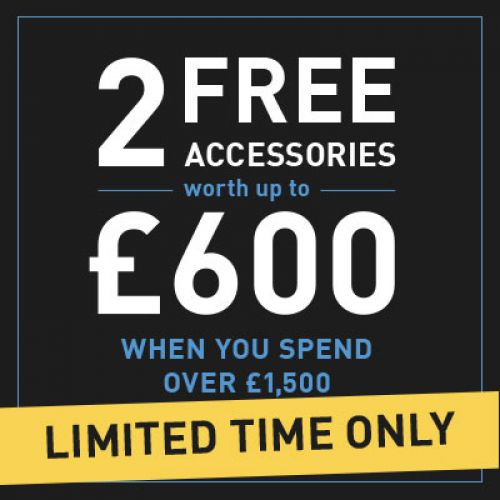 2 Free Accessories Offer