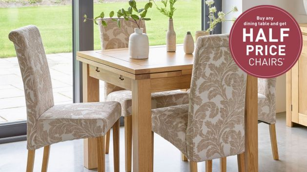 Oak Dining Chairs Solid Wood Dining Chairs Oak Furnitureland