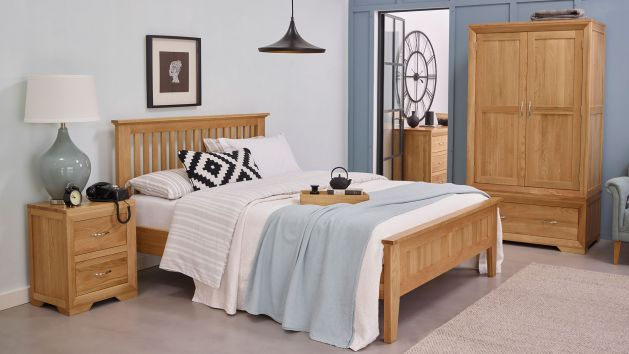 Bedroom Furniture Solid Oak Bedroom Sets Uk Oak Furniture Land