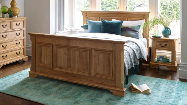 Oak Beds Solid Wood Bed Frames Oak Furnitureland