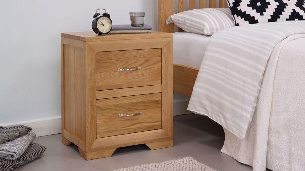 Oak Bedside Tables Solid Wood Bedside Tables Oak Furnitureland