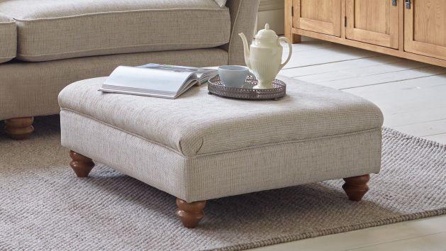 Fabric Footstools