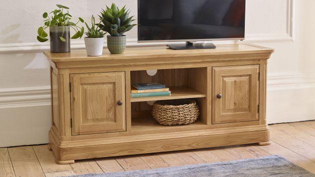 Oak Tv Units Tv Cabinets Tv Stands Oak Furnitureland