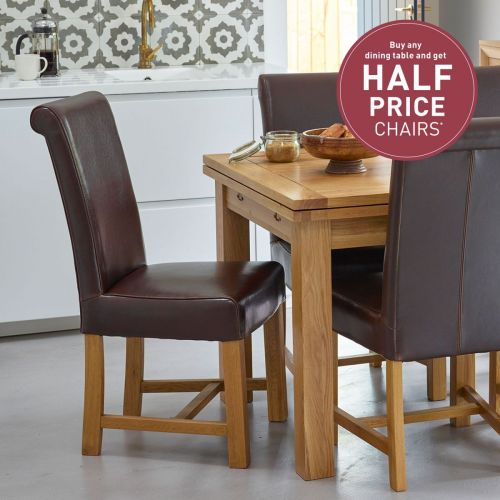 47afbf84d5 Oak Dining Chairs | Solid Wood Dining Chairs | Oak Furnitureland