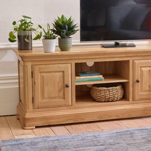 tv hideaway furniture inside oak tv units u0026 stands solid wood cabinets furnitureland