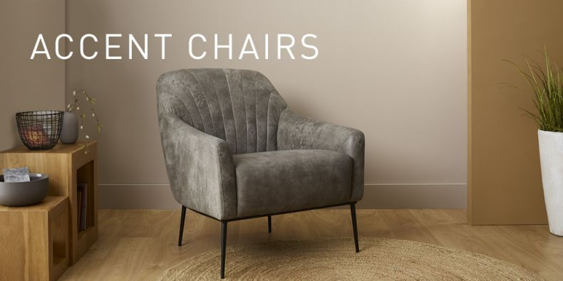 Accent Chairs Tub Velvet Occasional Chairs Oak Furnitureland