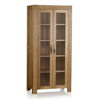 Alto Natural Solid Oak Glazed Dresser