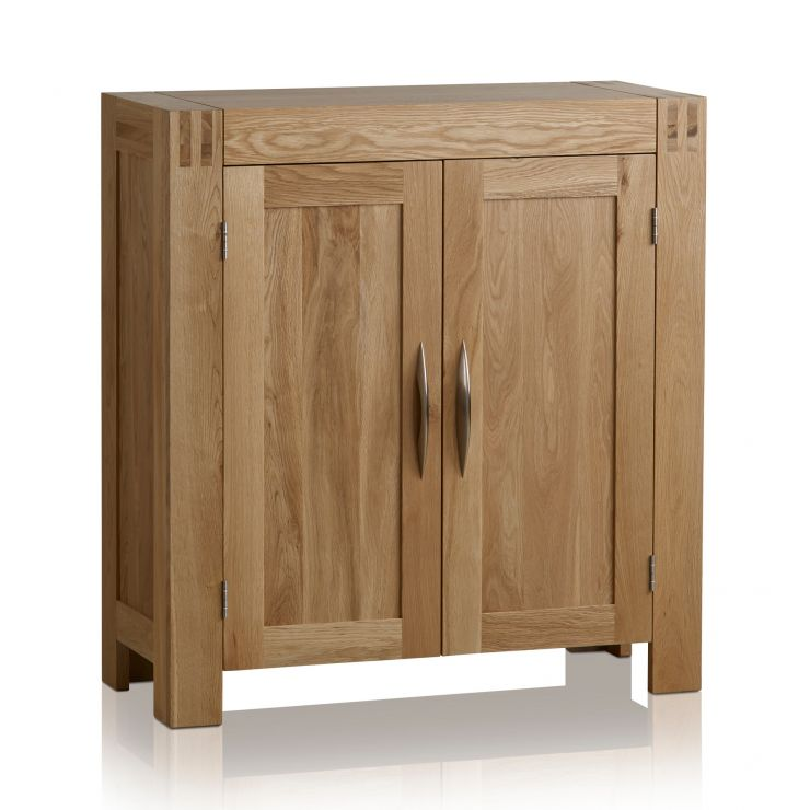 Alto Natural Solid Oak Media Storage Unit - Image 7