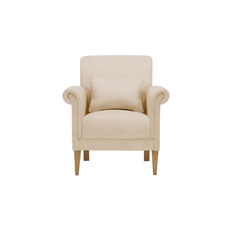 Amelia Accent Chair in Polla Oatmeal - Image 1