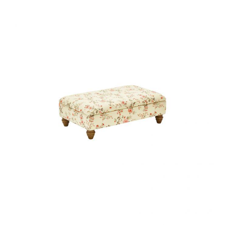 Amelia Storage Footstool in Rippon Rose - Image 2