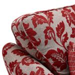 Ashdown 2 Seater Sofa in Hampton Ruby - Thumbnail 4
