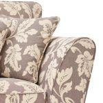 Ashdown 3 Seater Sofa in Hampton Natural with Rustic Feet - Thumbnail 4