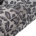 Ashdown 4 Seater Sofa in Hampton Charcoal - Thumbnail 5