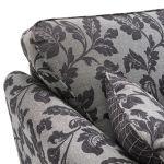 Ashdown 4 Seater Sofa in Hampton Charcoal - Thumbnail 4