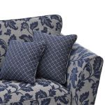Ashdown 4 Seater Sofa in Hampton Navy - Thumbnail 5