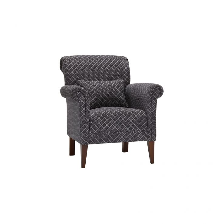 Ashdown Accent Chair in Hampton Charcoal - Image 9