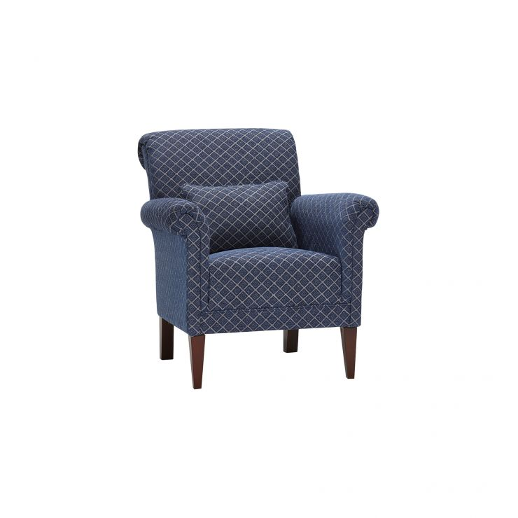 Ashdown Accent Chair in Hampton Navy - Image 1